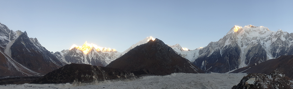DEBRIS COVERED GLACIERS AND HAZARDS IN THE HIMALAYA