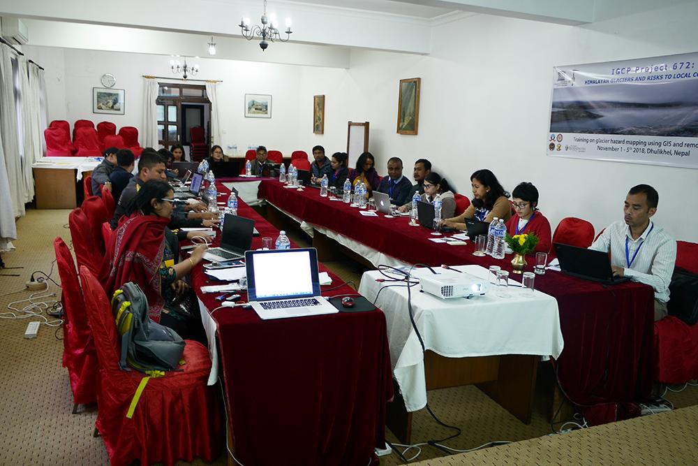 Remote sensing/GIS training in Nepal