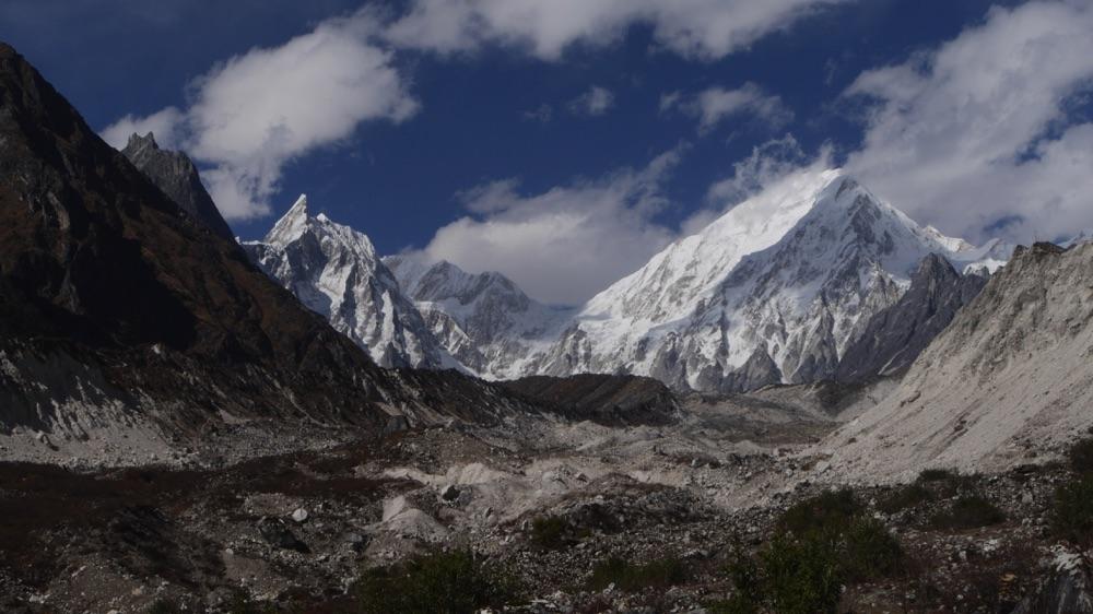 Ponkar glacier