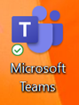 MS Teams icon on desktop