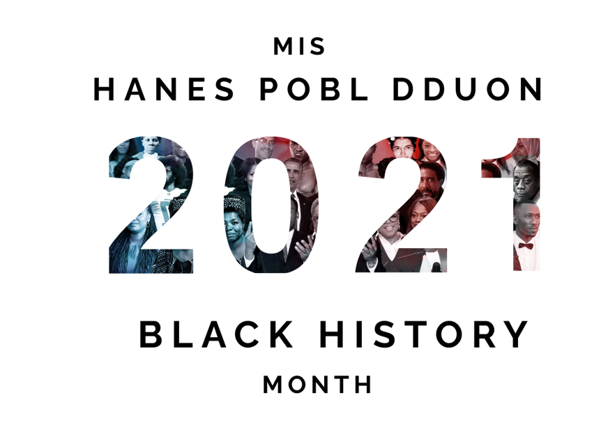 black history month 2021 poster