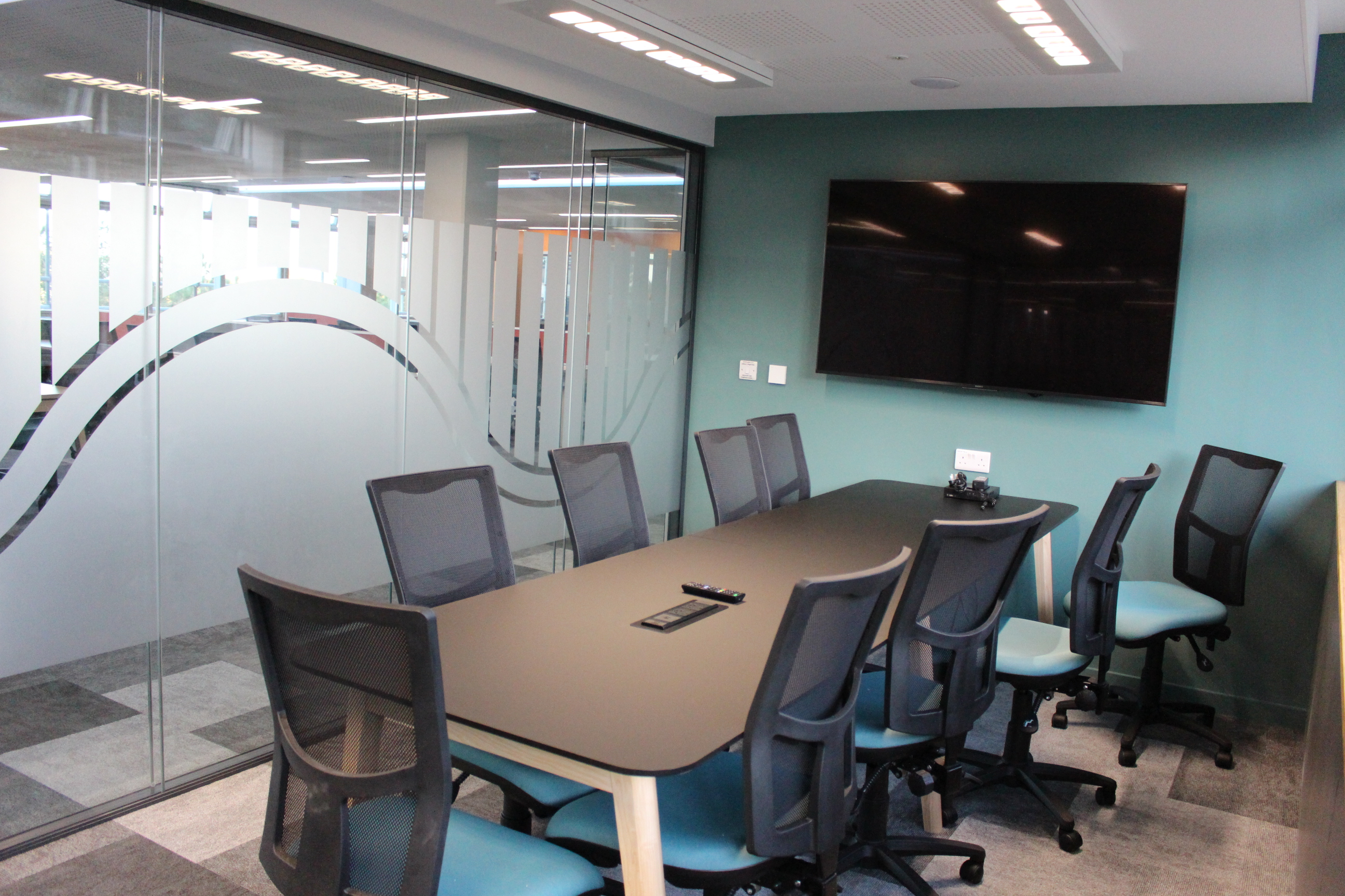 One of the new Group Study rooms